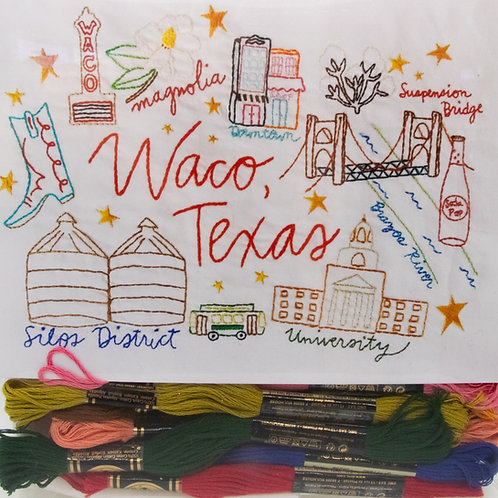 Noodle & Lou Waco Sampler Pattern