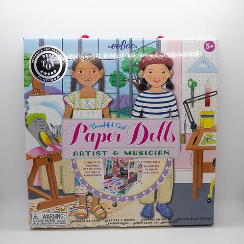 Artist & Musician Paper Dolls