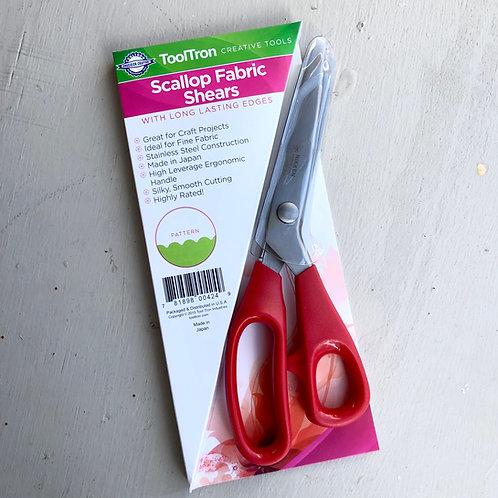 Scallop Fabric Scissors