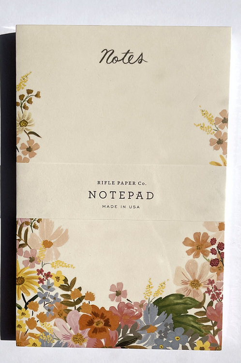 Rifle Wildflower Notepad