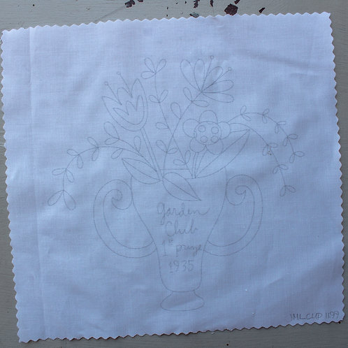 Noodle & Lou Garden Club Prize Embroidery Pattern