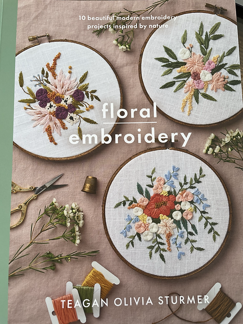 Floral Embroidery Book of Patterns