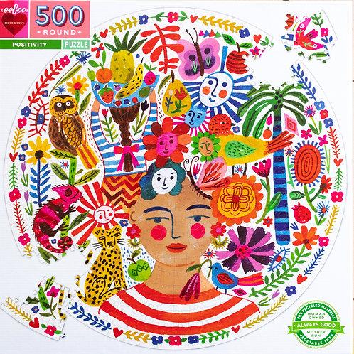 Positivity Round 500 Pc Puzzle