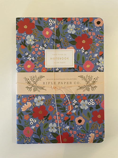 Rifle Wildflower 3 Pack Assorted Notebooks