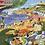 Thumbnail: Beach Umbrellas 1000 Piece Puzzle