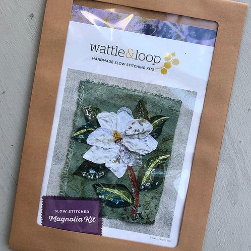 Magnolia Slow Stitching Kit
