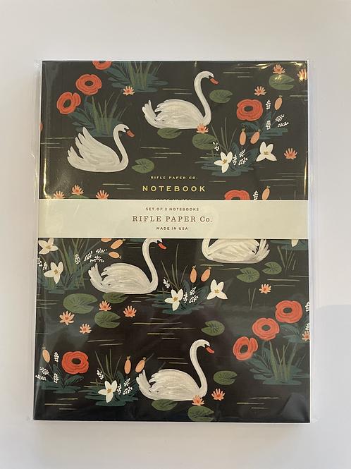 Rifle Swan & Flamingo Pack of 2 Notebooks