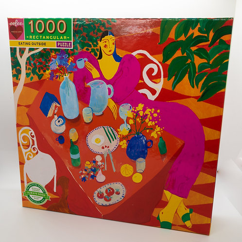 Eating Out 1000 Piece Puzzle