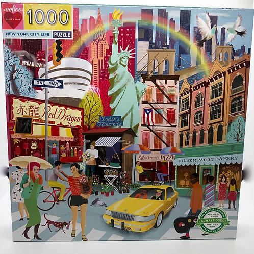 New York City Life 1000 Piece Puzzle