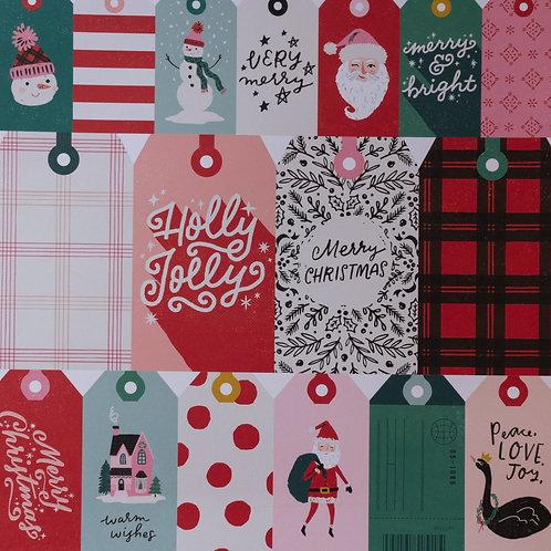 Hey Santa Be Jolly Paper
