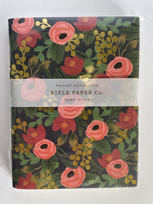 Rifle Rose Pocket Notebooks 2 Pack