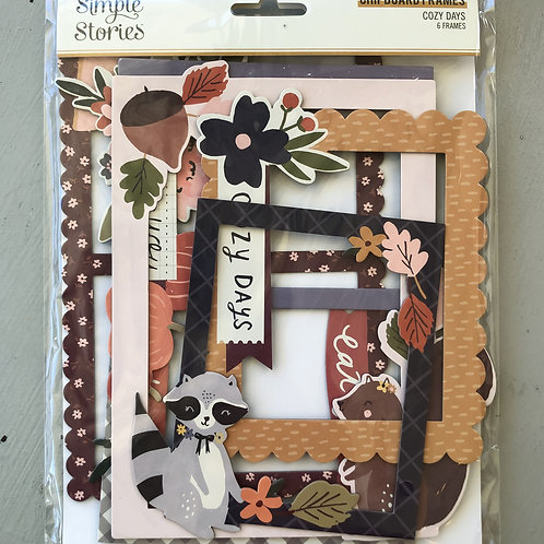 Simple Stories Cozy Days Chipboard Frames