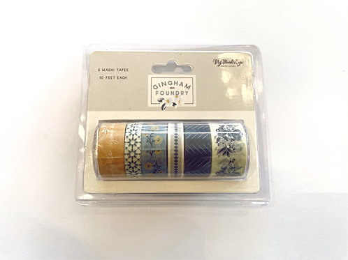 Gingham Foundry Washi Tapes