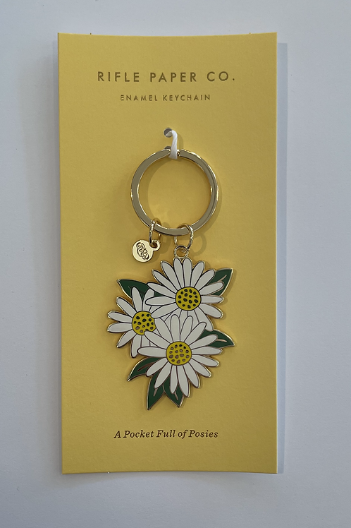 Pocket of Posies Enamel Keychain