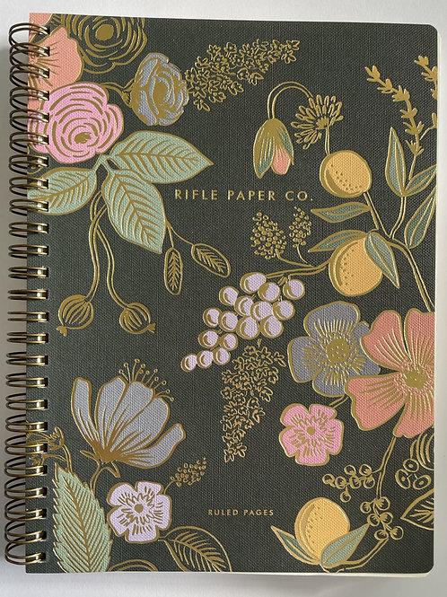 Rifle Botanical Spiral Notebook