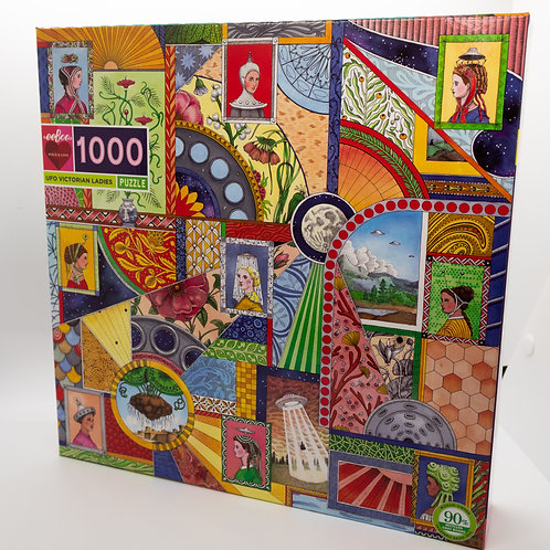 UFO Victorian Ladies 1000 Piece Puzzle