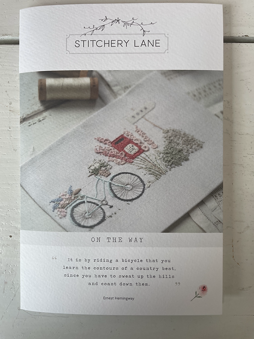 On the Way Embroidery Kit by The Stitchery