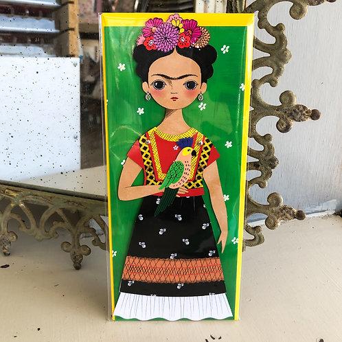 Frida Paper Doll Card
