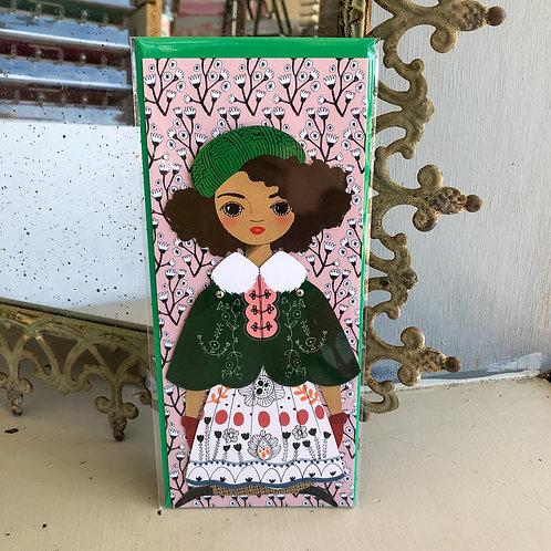 Noel Paper Doll Card