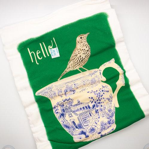 Hello Tea Towel