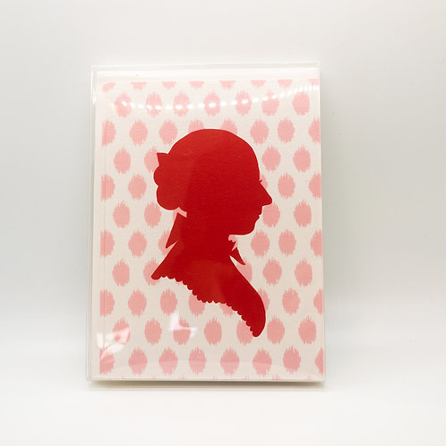 Pink Silhouette Flat Notes
