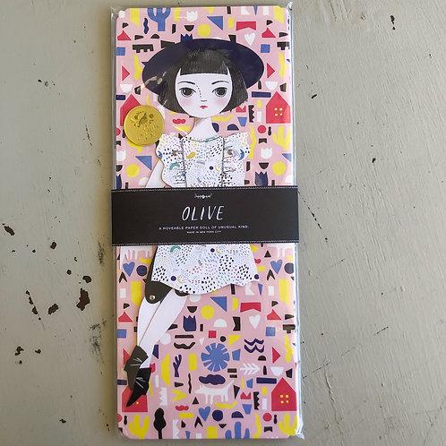 Olive Paper Doll Kit