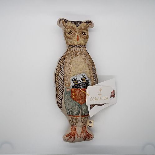 Coral & Tusk Owl Pocket Doll