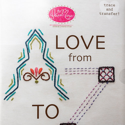 AMH From A to Z Embroidery Transfer