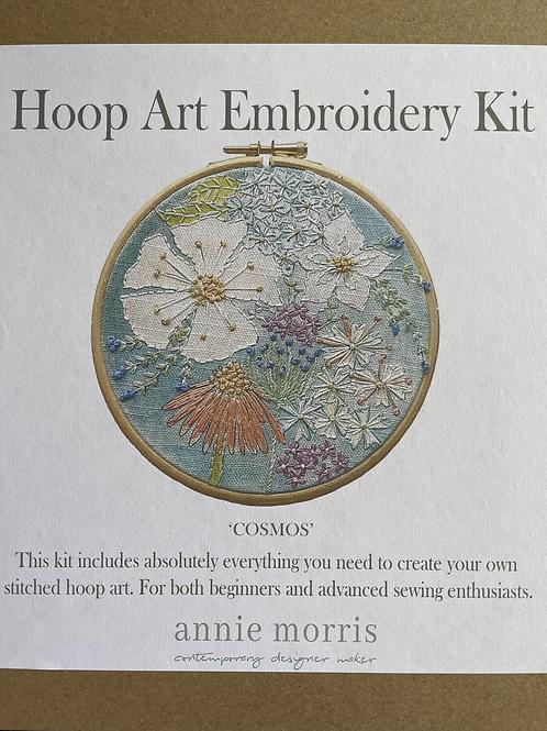 'Cosmos' Hoop Art Embroidery Kit