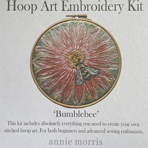 'Bumblebee' Hoop Art Embroidery Kit