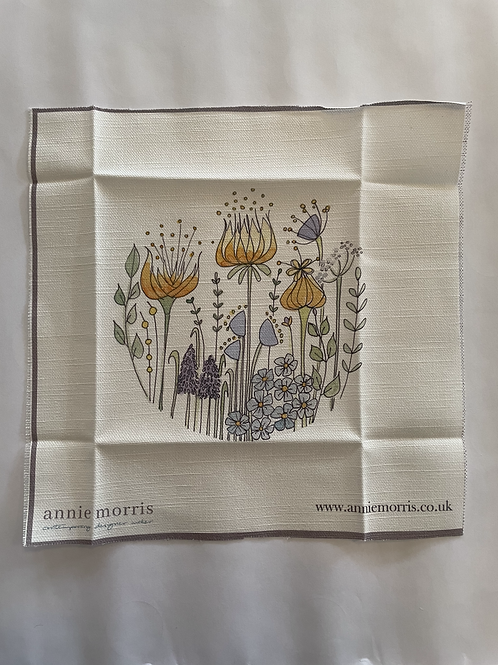 Forget Me Not Flower Embroidery Pattern