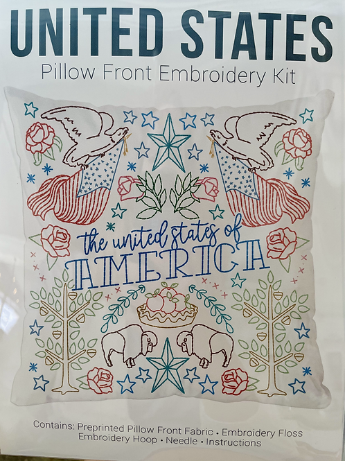 United States Metz & Daughters  Pillow Front Kit