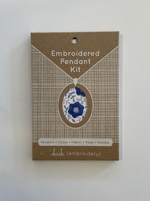 Embroidery Pendant Kit #2