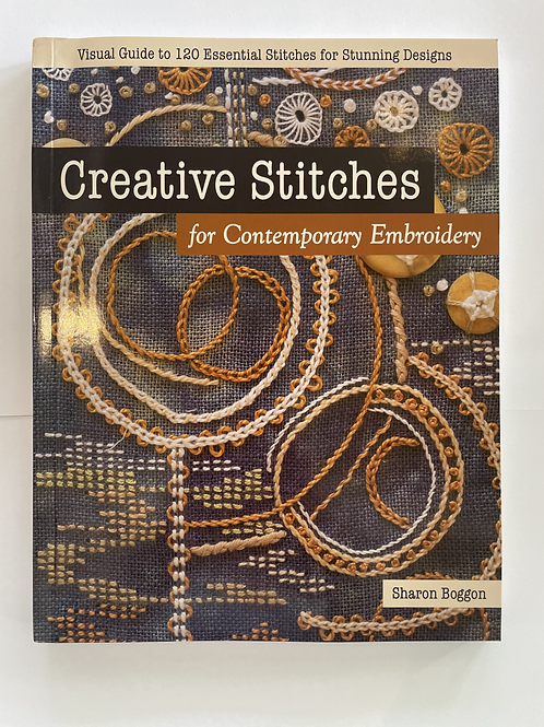 Creative Stitches for Contemporary Embroidery Book