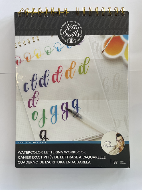 Watercolor Lettering Workbook