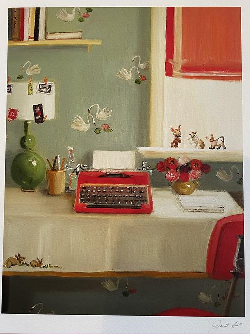 """Typewriter Print 8.5"""" x 11"""""""