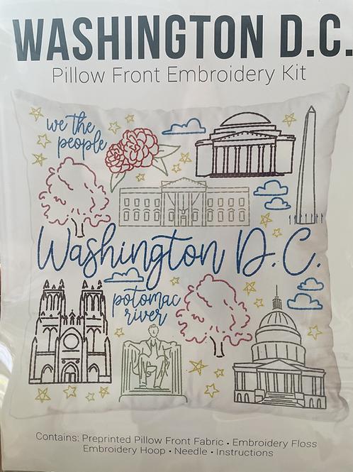Washington D.C. Metz Daughters Pillow Front Kit