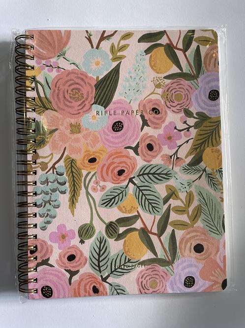 Rifle Floral Spiral Notebook