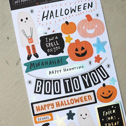 Hey Pumpkin Sticker Sheet