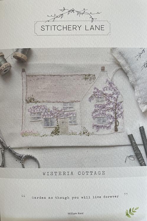 "Stitchery Lane ""Wisteria Cottage"" embroidery kit"