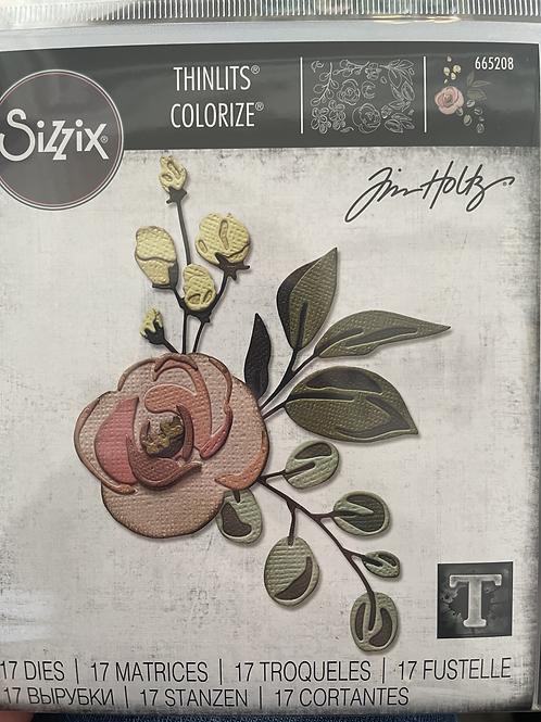Thinlits: Flower Dies Rose