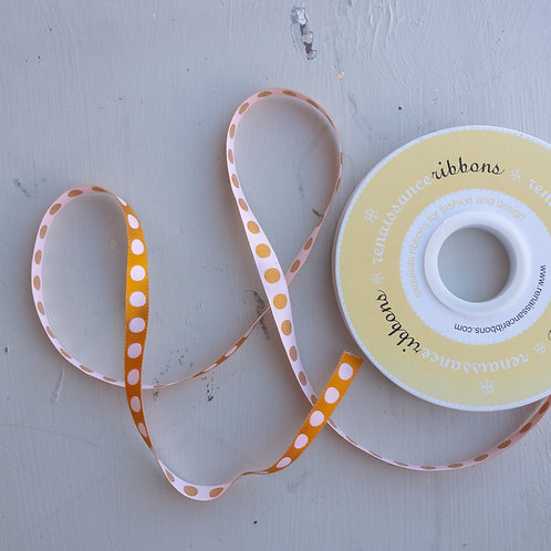 Pompom Marigold Ribbon