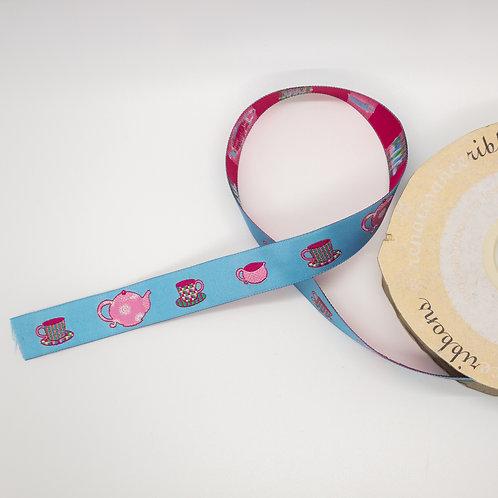 Pink Tea Time Ribbon