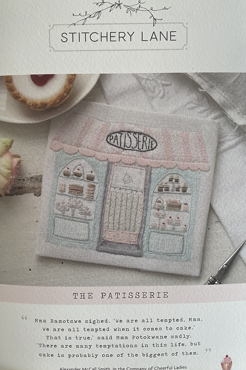 """Stitchery Lane """"The Patisserie"""" embroidery kit"""