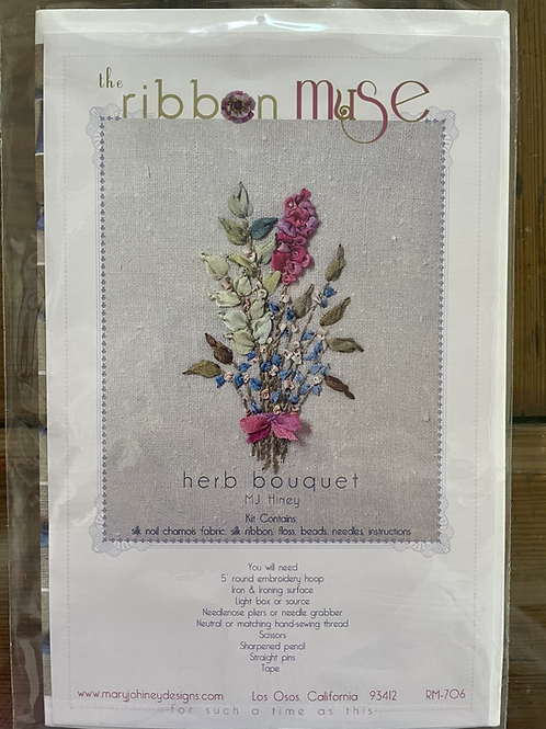 Ribbon Muse: Herb Bouquet Kit
