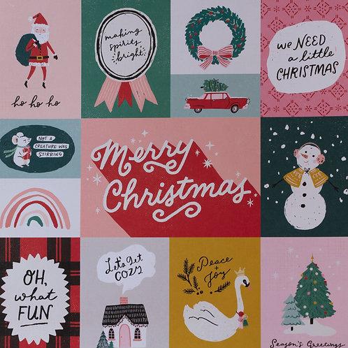 Hey Santa Oh What Fun Paper