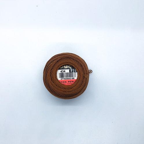 #434 Perle Cotton Thread No.8