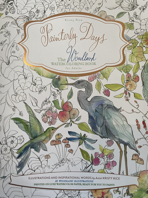 The Woodland Watercoloring Book