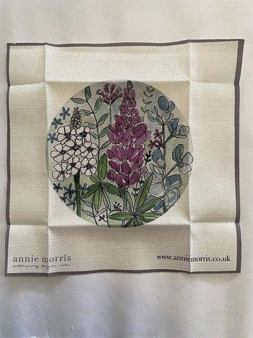 Lupine Embroidery Pattern