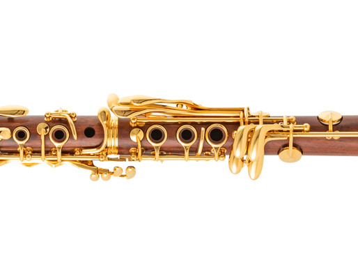 Neue C-Klarinette Superior Mopane 24k